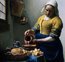 130405 la lechera vermeer jos ngel dom nguez calatayud - La lechera de vermeer ...